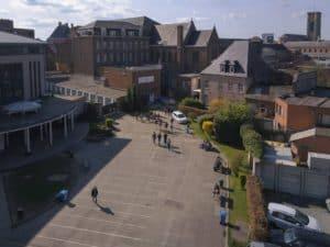 Collège Saint-Julien Ath entrée 2