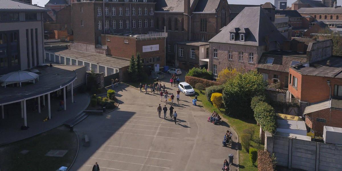 Collège Saint-Julien Ath Entrée